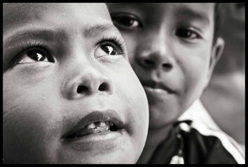 Bajau Village - innocence