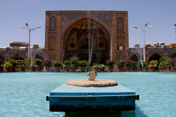 ساعت آفتابی مسجد شاه تهران