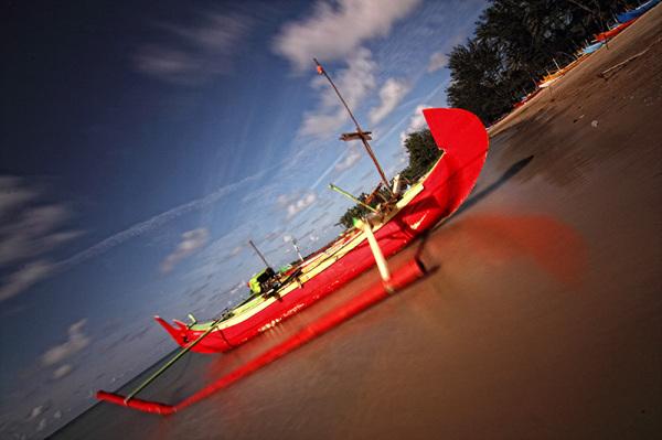 Belitung Island, Pantai burung mandi,  Indonesia