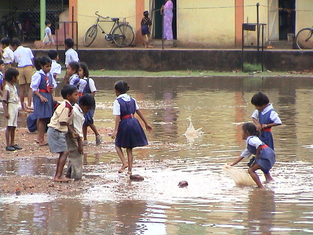 Water Sport  in School
