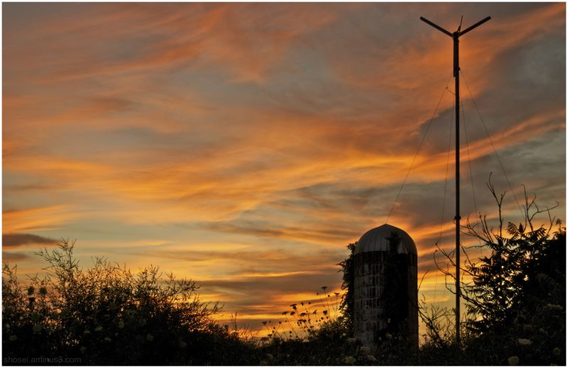 Sunset Series (5) - Silo/Mill