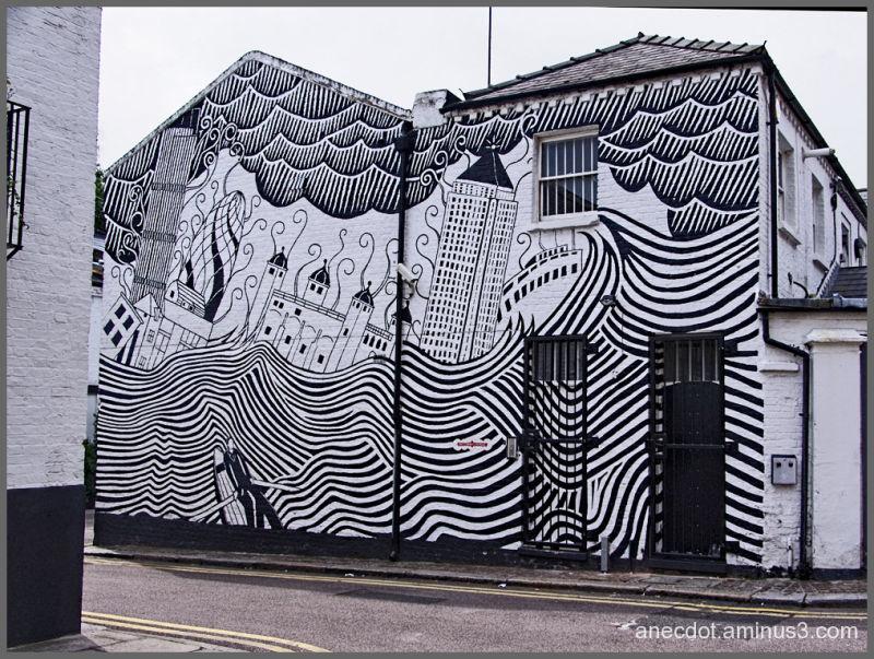 Londres 18 noir et blanc et couleurs 2 for Architecture noir et blanc