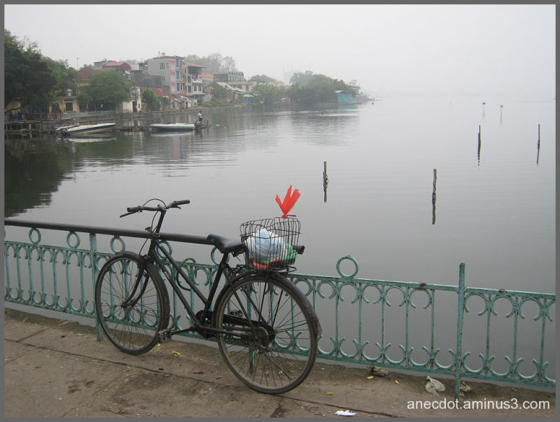 Hanoi ... west lake