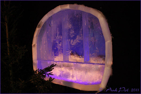 Window of the icehotel