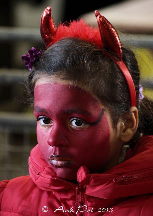 little she-devil on Halloween