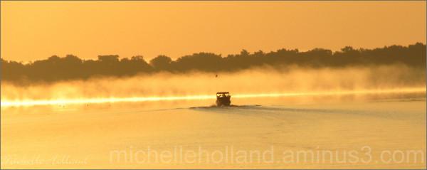 Golden Hour on Crescent Lake