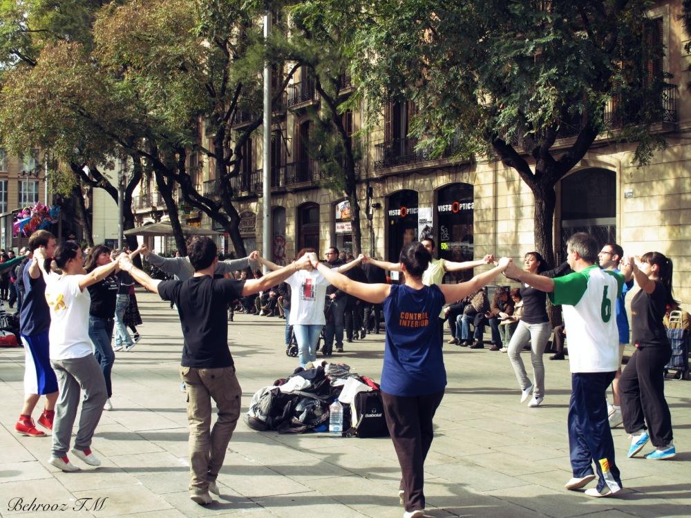 Praying by dancing