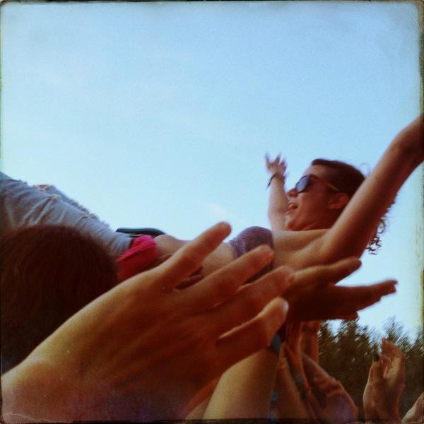 Yukon Blonde's crowd at Squamish