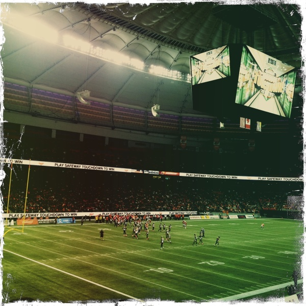 Bc lions playing