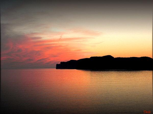 Coucher de soleil à Majorque