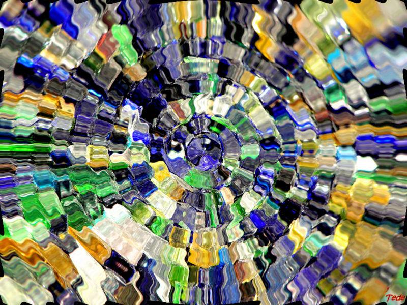 Ondulations de couleurs