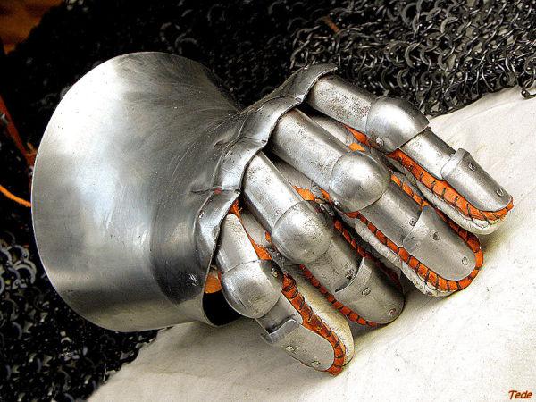 Gant d'armure