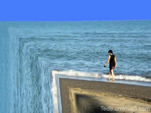 La sirène et la mer