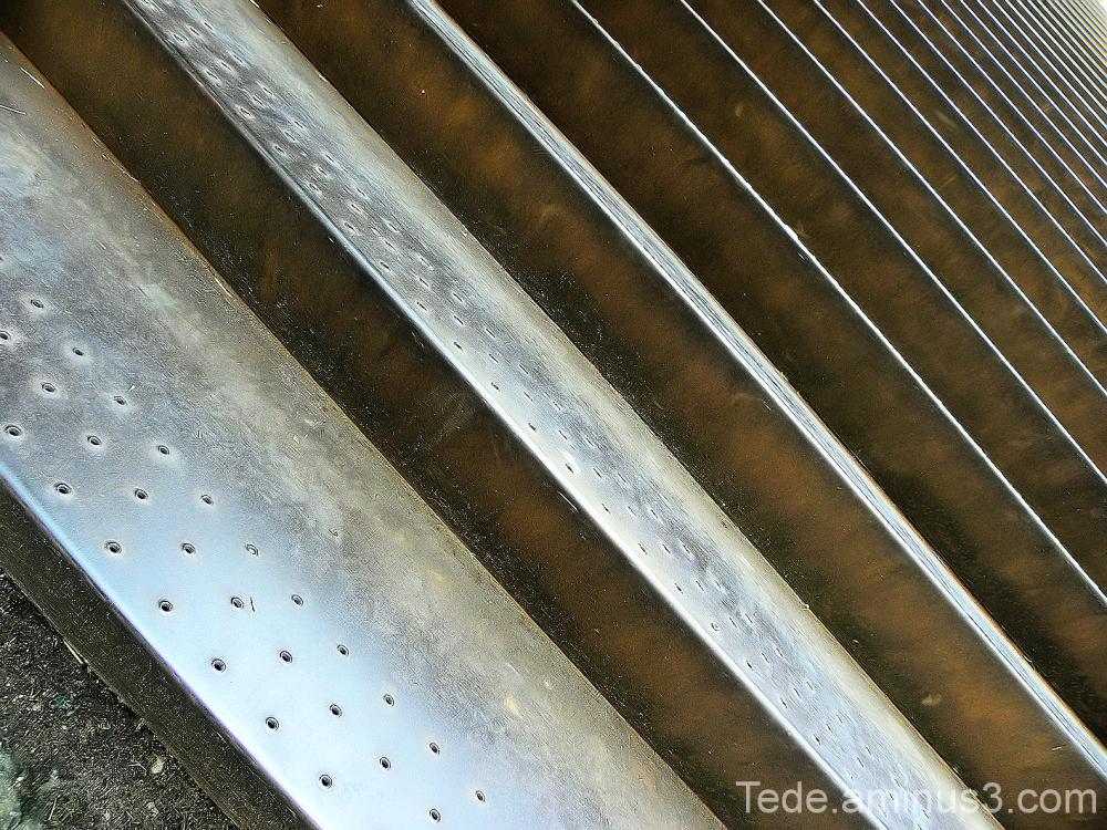 Escalier de fer