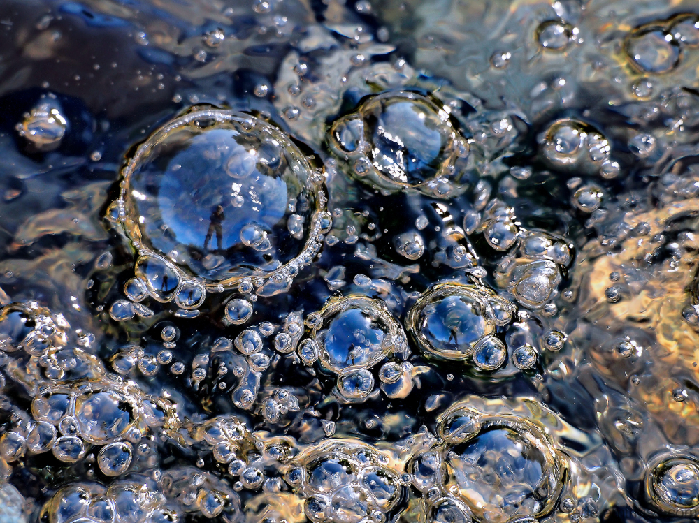 Bulles d'eau
