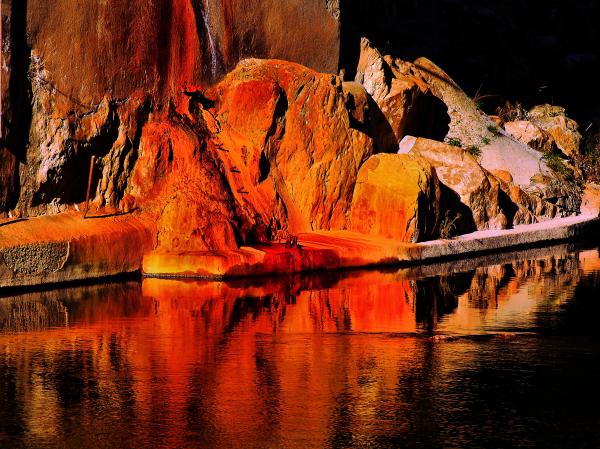 Reflet dans une rivière