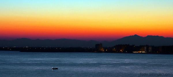 La baie de Rosas, Espagne