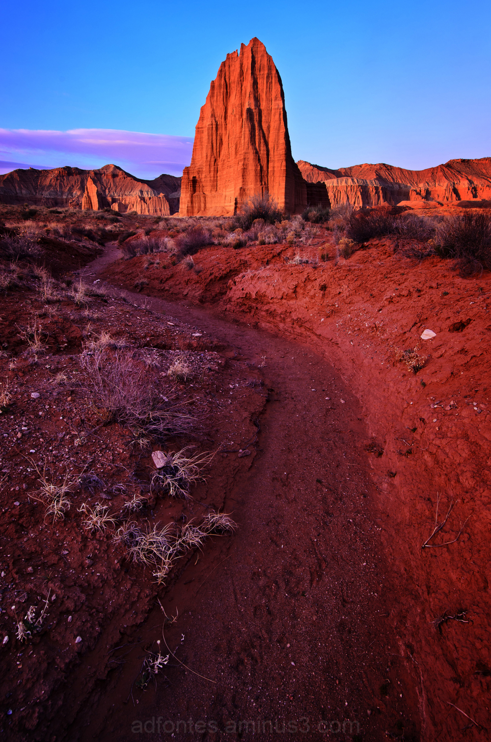 Temple of the Sun, Capitol Reef National Park