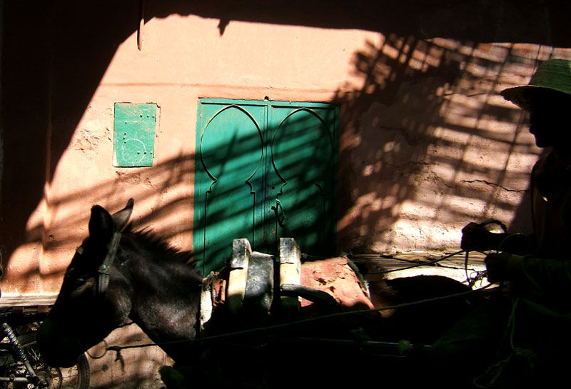 Morocco Marrakech street