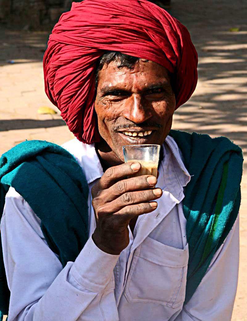 Inde paysan thé