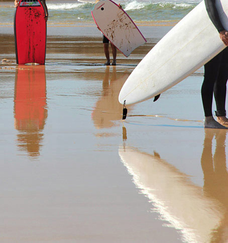 les planches / surfboards