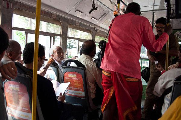 Dans le bus / Bus ride
