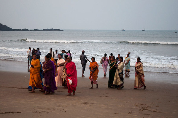 Un pélerinage à la mer / Pilgrimage at the sea