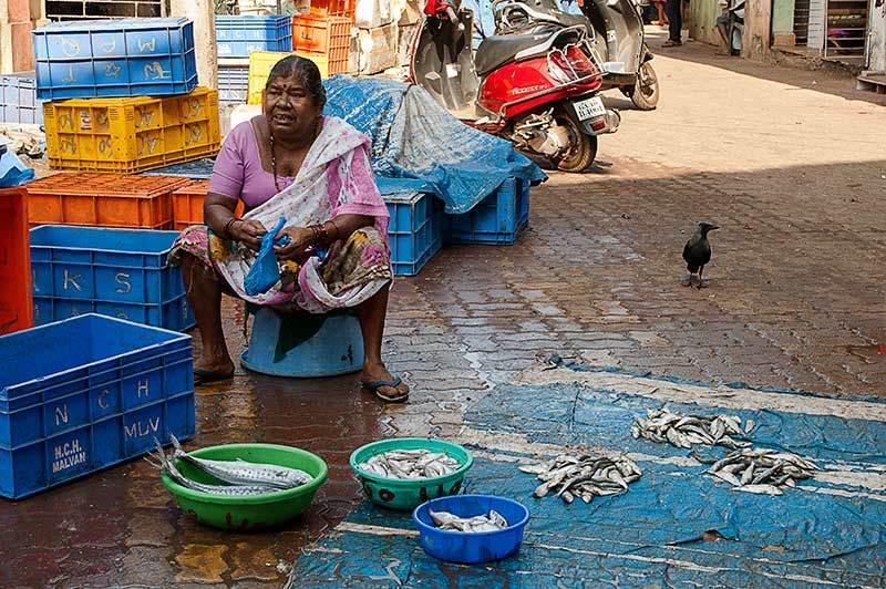 La vie de la femme du pêcheur
