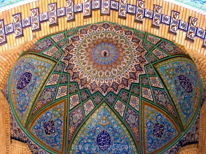 jameh mosque tabriz iran islamic art