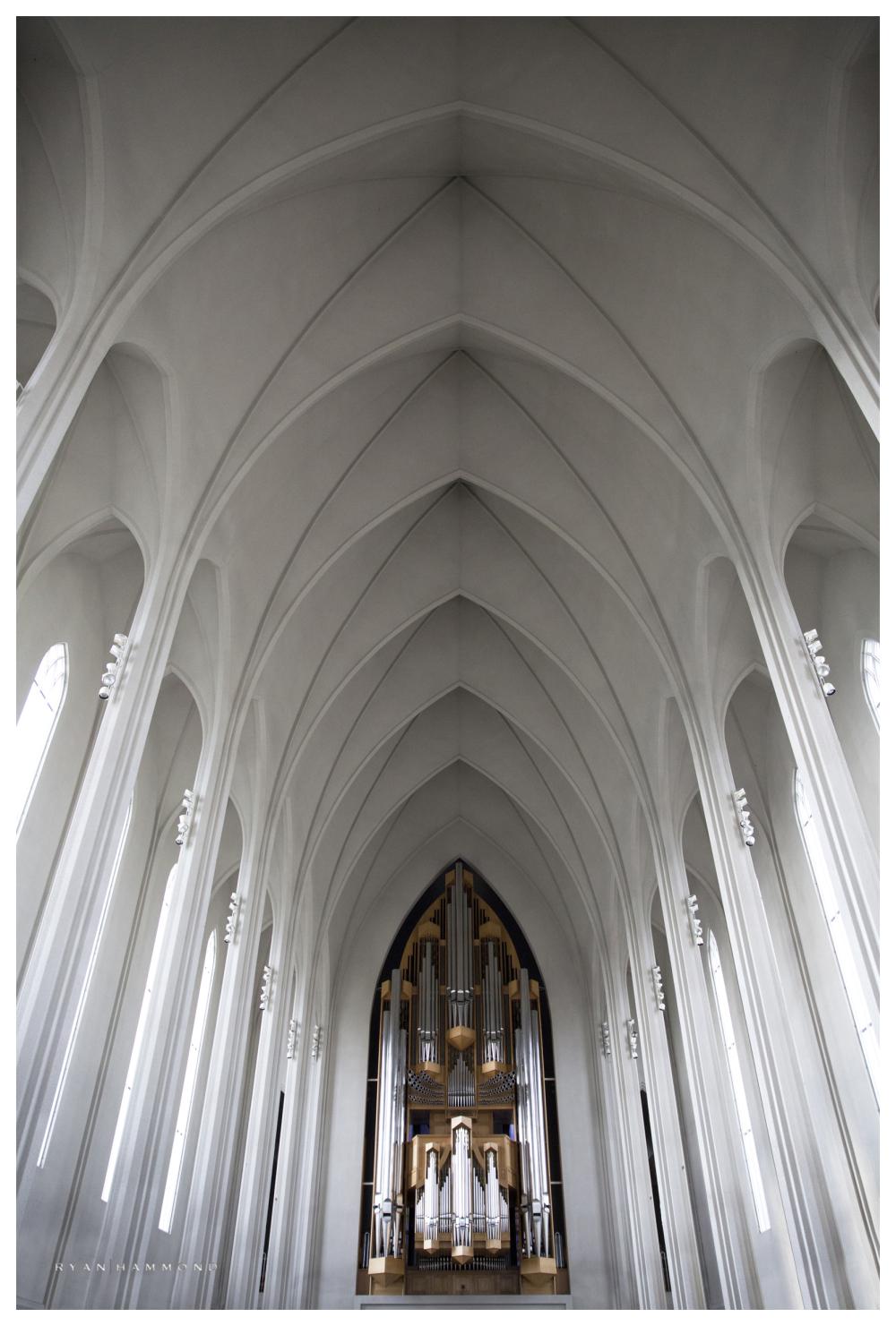 Hallgrimskirkja, Iceland, church, architecture
