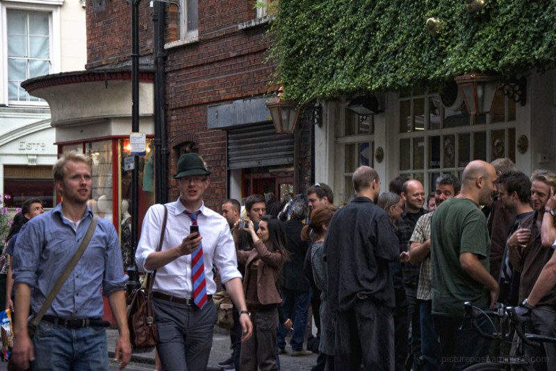 Hats off to you (One Hour in Soho)
