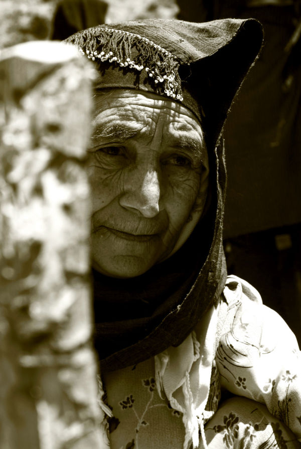 A old rural lady