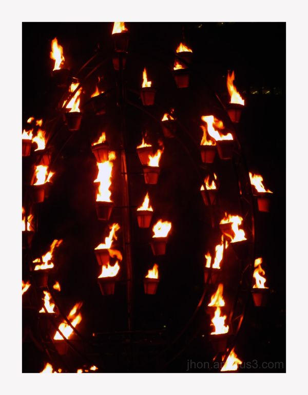 Invitation to Dream - A Fire Garden Installation