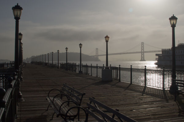 Embarcadero Pier at sunrise