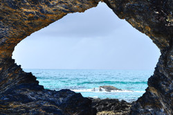 The Hole in the Rock at Narooma