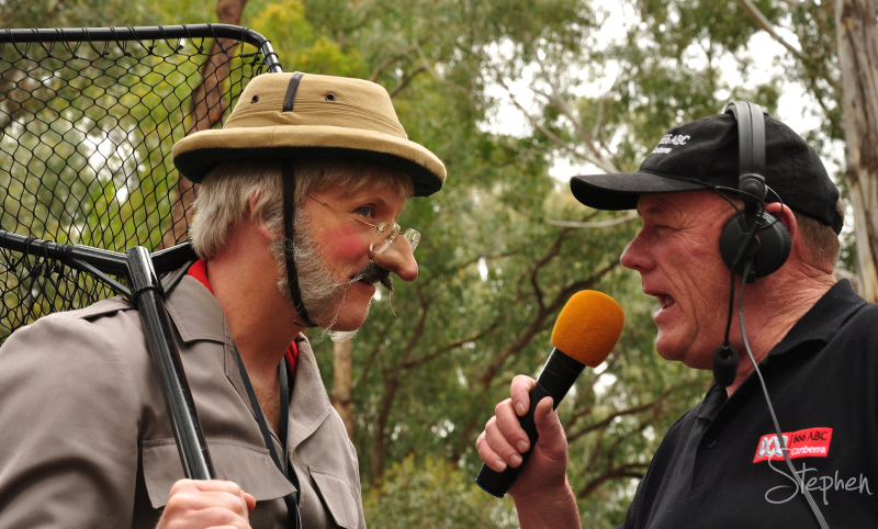 ABC Radio interviews claimed naturalist Siegfried.