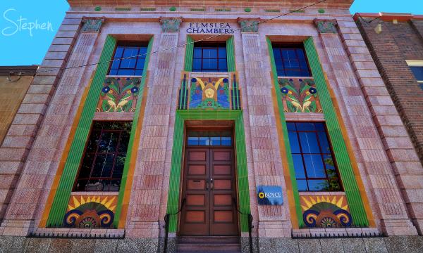 Art Deco Elmslea Chambers in Goulburn