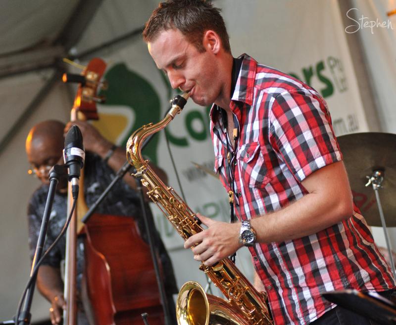 Neils Rosendahl with jazz quartet Vertical