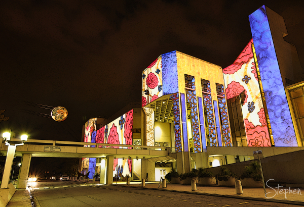 Enlighten Fesitval lights up the National Gallery