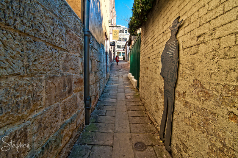 The Suez Canel laneway in The Rocks