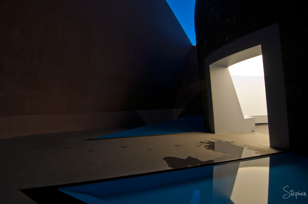 """Within Without"" - a James Turrell skyspace"