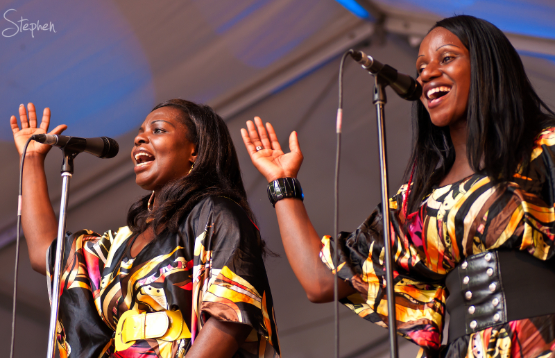 The Public Opinion Afro Orchestra in Canberra