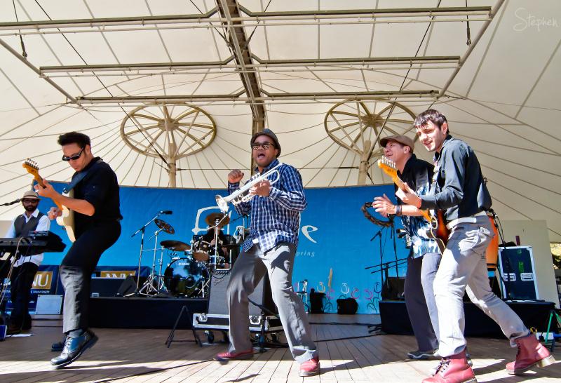 Desorden Publico live at Floriade 2011