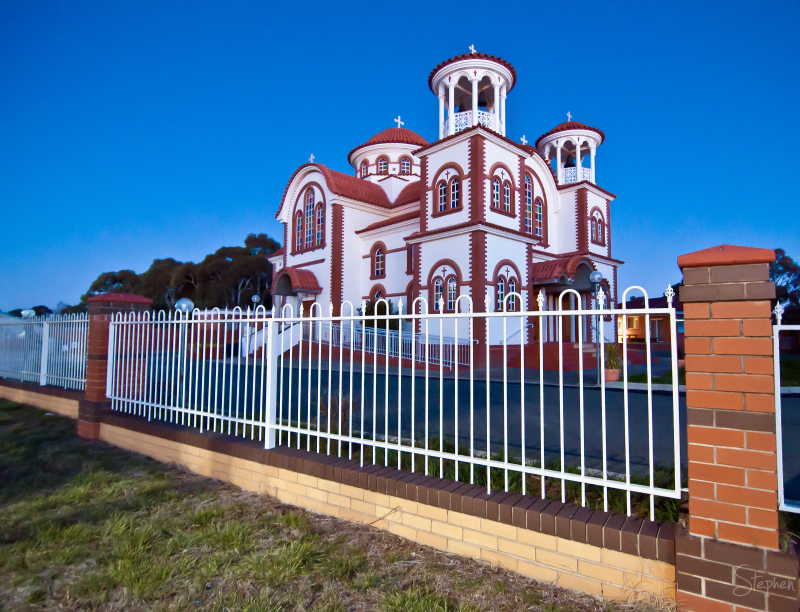 All Saints Greek Orthodox Church in Canberra