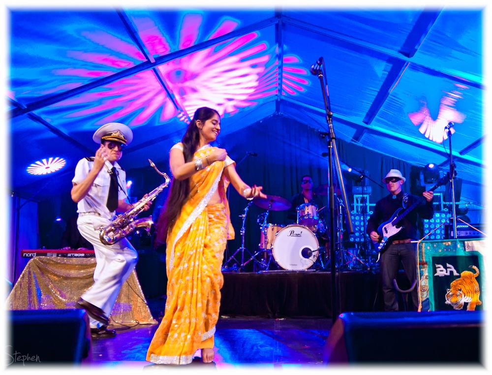Bombay Royale at Canberra Multicultural Festival