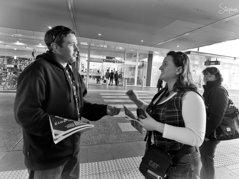On the street - The Big Issue - part 2