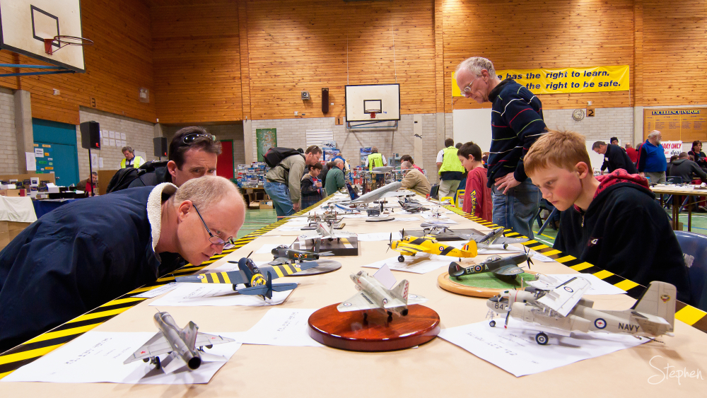 Fans at ACT Scale Modellers' Society annual event