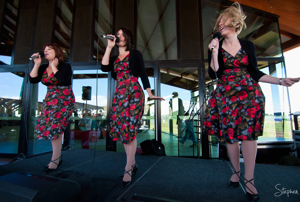 The Stilettos perform at the National Arboretum