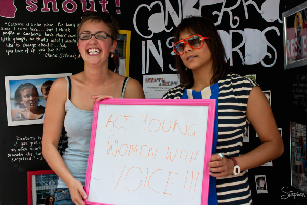 Shout - Canberra young women with voice