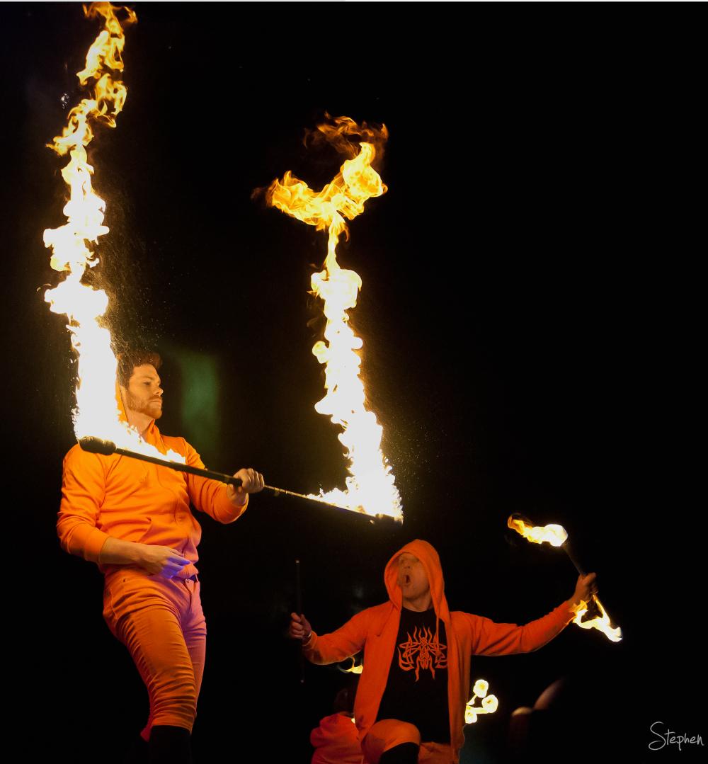 Fireflies fire juggling act at Floriade NightFest